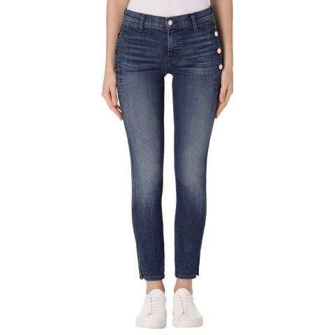 J Brand Cover Blue Zion Skinny Stretch Jeans