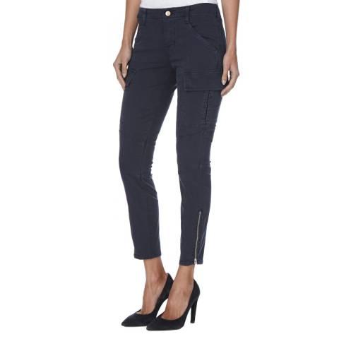J Brand Indigo Houlihan Cargo Skinny Stretch Jeans