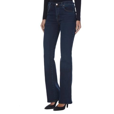 J Brand Throne Indigo Litah High Rise Boot Cut Jeans