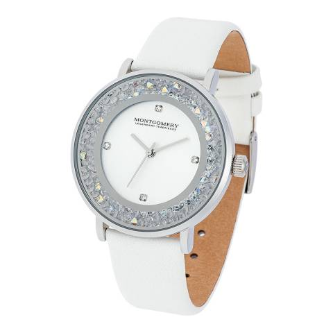 Montgomery Withby Lady Watch white silver