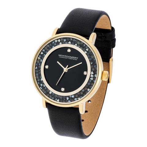 Montgomery Women's Black/Gold Withby Watch