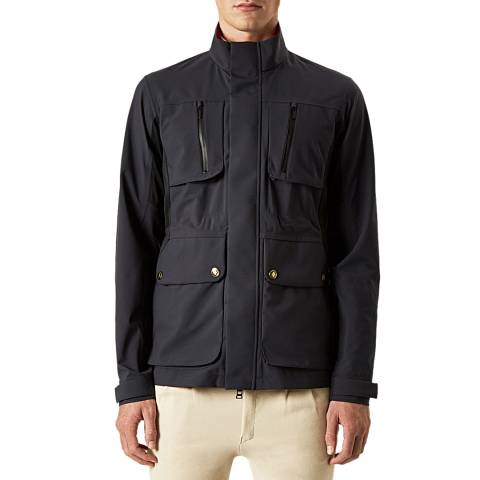 Hunter Men's Navy Field Jacket