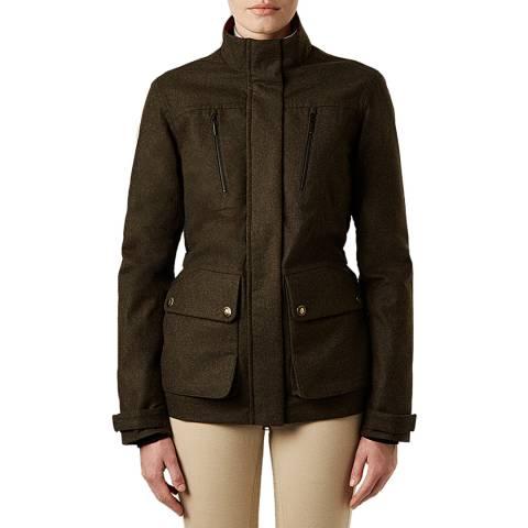 Hunter Women's Dark Olive Wellesley Field Jacket