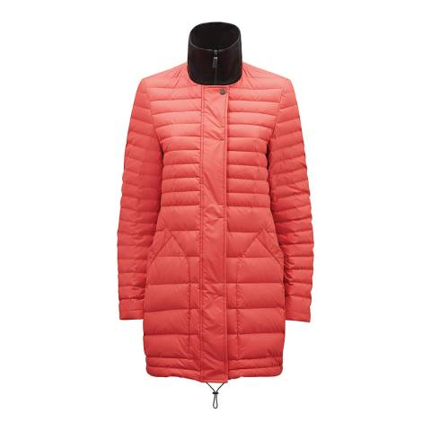 Hunter Women's Orange Original Refined Short Down Coat