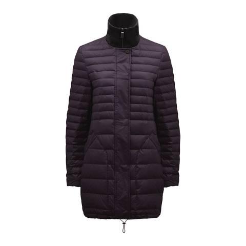 Hunter Women's Purple Original Refined Short Down Coat