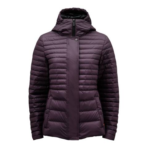 Hunter Purple Down Jacket
