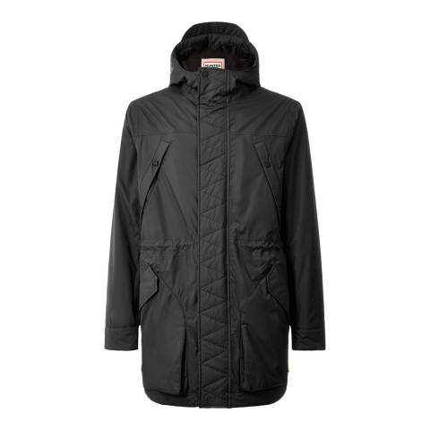 Hunter Men's Black Original Insulated Parka