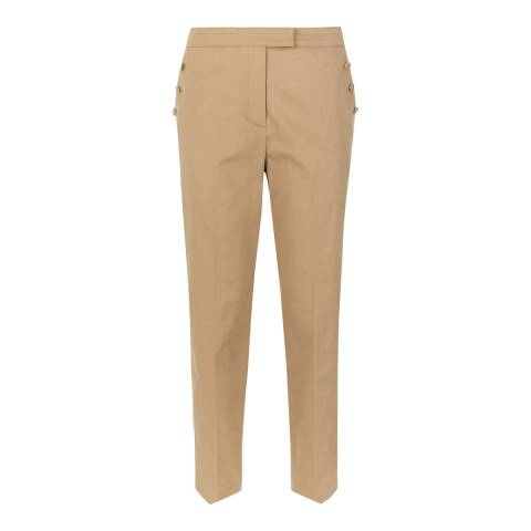 Jaeger Stone Chino Stretch Trousers