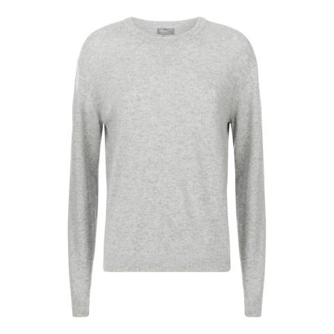 Jaeger Grey Wool Cashmere Jumper