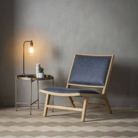 Gallery Denim Fabric Carnaby Chair