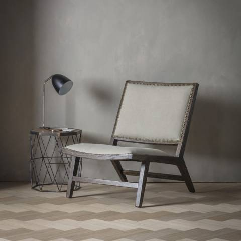 Gallery Stone Washed Fabric Carnaby Chair