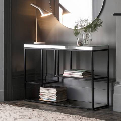 Gallery Black Pippard Console Table