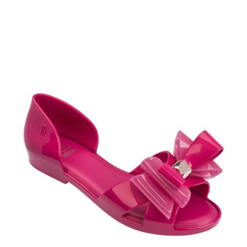Melissa Pink Kids Dream Bow Sandals