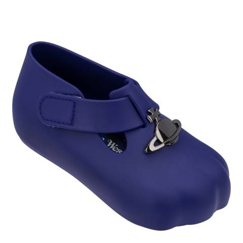 Melissa Navy Mini Paw Cub Shoes