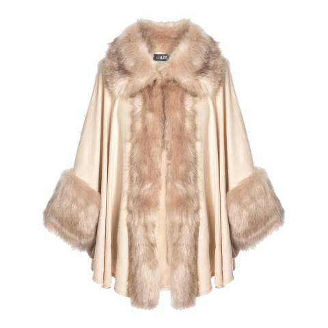 JayLey Collection Luxury Faux Fur Jacket