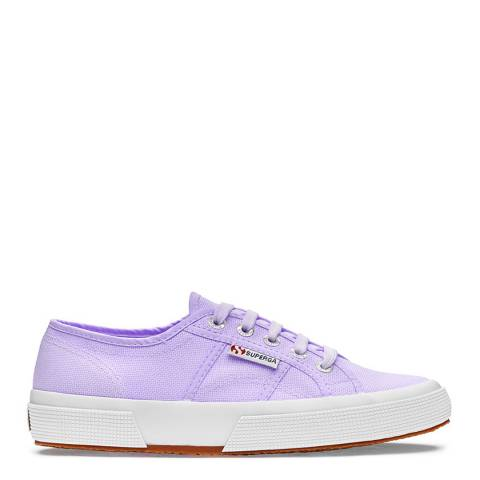 Superga Womens Lilac Canvas Classic Trainers