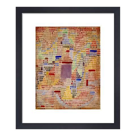 Paragon Prints Mit Dem Eingang, 1931 by Paul Klee, Framed Print, 33x40cm