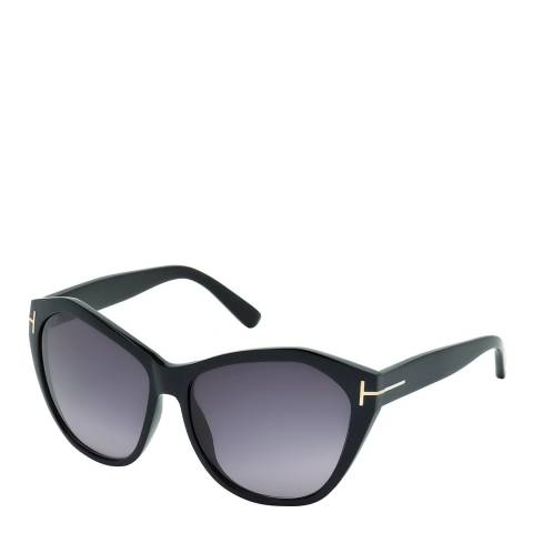 Tom Ford Women's Glossy Black Angelina Sunglasses 61mm