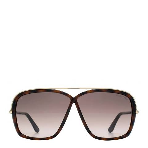Tom Ford Women's Brenda Dark Brown/Graduated Brown Sunglasses 62mm