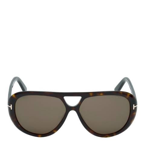 Tom Ford Men's Marley Dark Brown Sunglasses 59mm