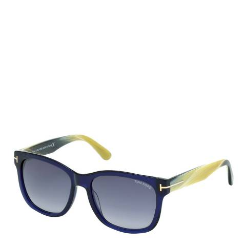 Tom Ford Women's Cooper Blue/Graduated Blue Sunglasses 57mm