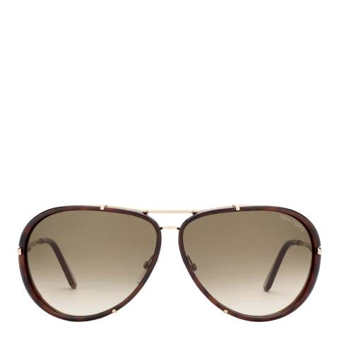 Tom Ford Men's Brown Cyrille Sunglasses 63mm