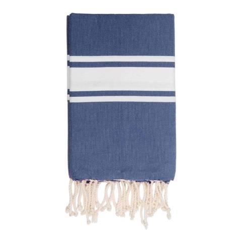 Febronie St Tropez Hammam Towel, Denim