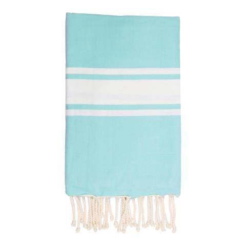 Febronie St Tropez Hammam Towel, Aqua