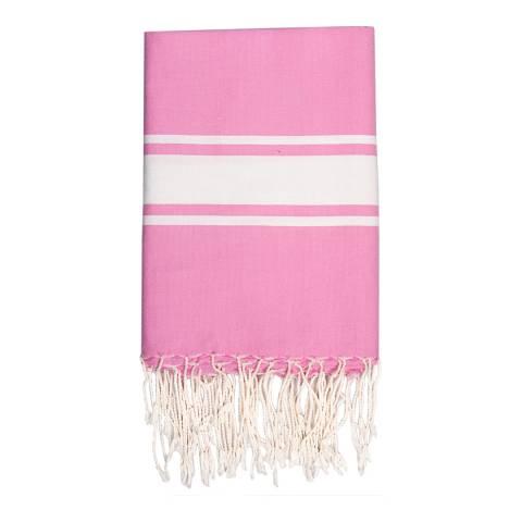 Febronie St Tropez Hammam Towel, Bubblegum Pink
