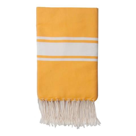 Febronie St Tropez Hammam Towel, Yellow