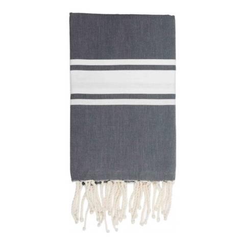 Febronie St Tropez Hammam Towel, Grey