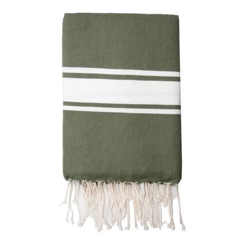 Febronie St Tropez Hammam Towel, Khaki