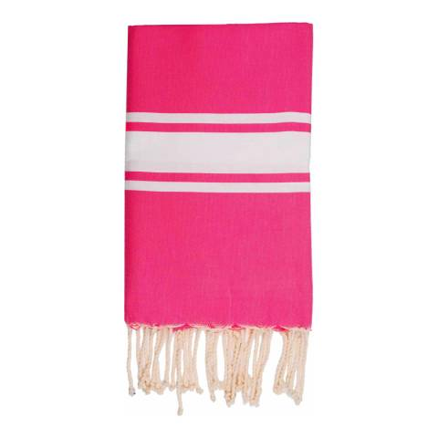 Febronie St Tropez Hammam Towel, Fuchsia
