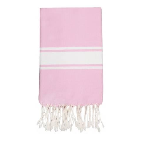 Febronie St Tropez Hammam Towel, Pale Pink