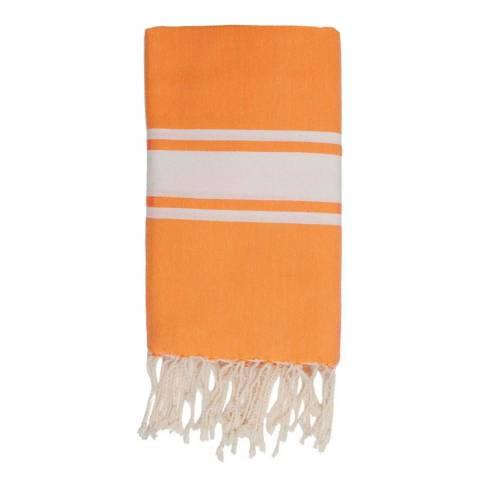 Febronie St Tropez Hammam Towel, Orange