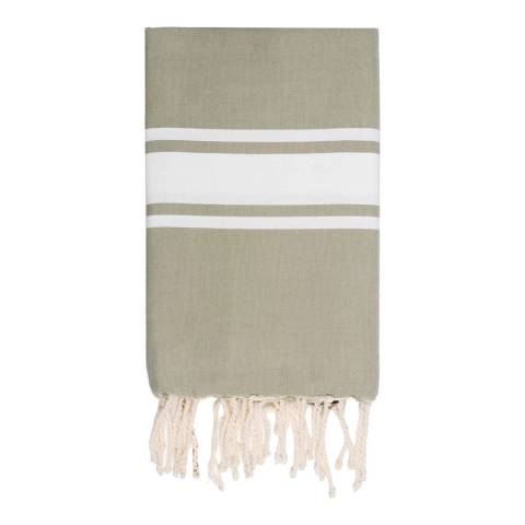 Febronie St Tropez Hammam Towel, Taupe