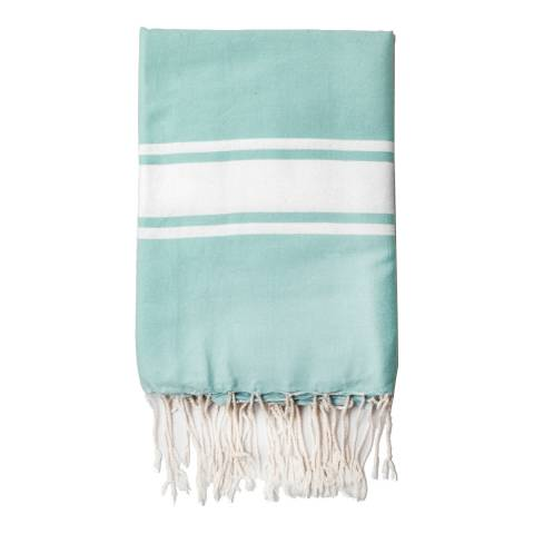 Febronie St Tropez Hammam Towel, Eau de Nil