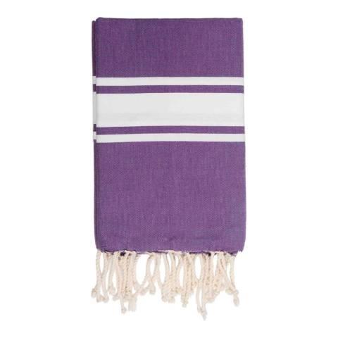 Febronie St Tropez Hammam Towel, Amethyst