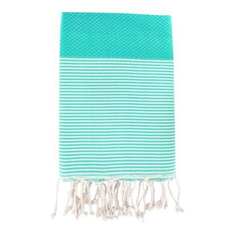 Febronie Ibiza Hammam Towel, Turquoise