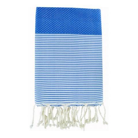 Febronie Ibiza Hammam Towel, Greek Blue