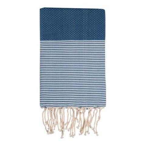 Febronie Ibiza Hammam Towel, Denim