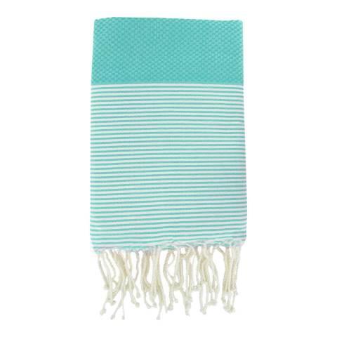 Febronie Ibiza Hammam Towel, Aqua
