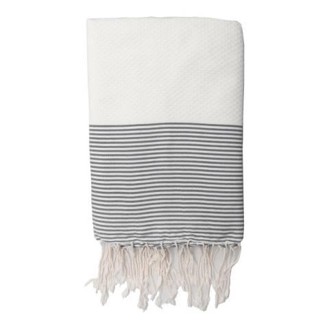 Febronie Ibiza Hammam Towel, Pearl