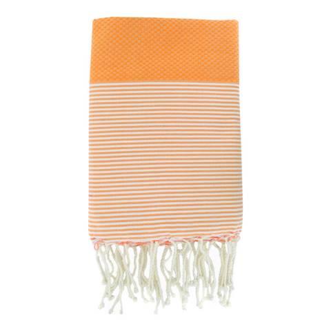 Febronie Ibiza Hammam Towel, Orange