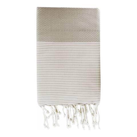 Febronie Ibiza Hammam Towel, Taupe