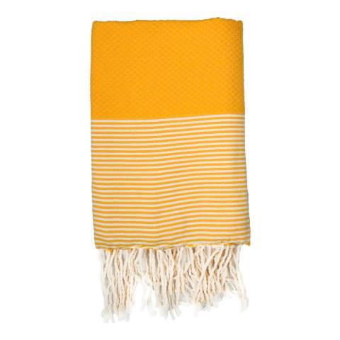 Febronie Ibiza Hammam Towel, Yellow