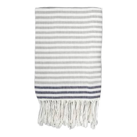 Febronie Bora Bora Hammam Towel, Grey
