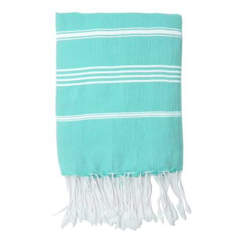 Febronie Mykonos Hammam Towel, Turquoise