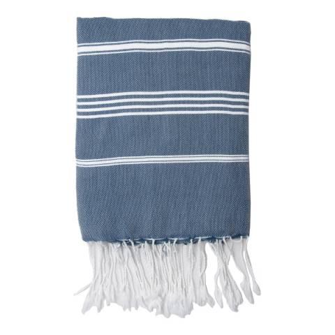Febronie Mykonos Hammam Towel, Denim