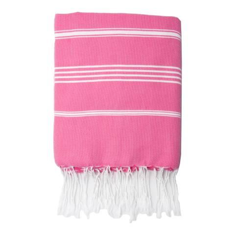 Febronie Mykonos Hammam Towel, Fuchsia